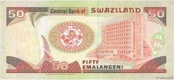 50 Emalangeni SWAZILAND  1995 P.26a pr.NEUF