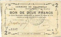 2 Francs FRANCE régionalisme et divers  1915 JP.02-0924 TTB