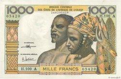 1000 Francs type 1960 ÉTATS DE L