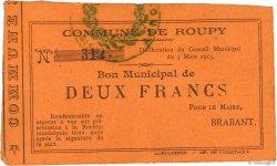 2 Francs FRANCE régionalisme et divers  1915 JP.02-1946 TTB
