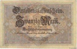 20 Mark ALLEMAGNE  1914 P.048b TTB à SUP