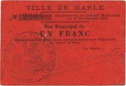 1 Franc FRANCE régionalisme et divers MARLE 1914 JP.02-1439 SUP