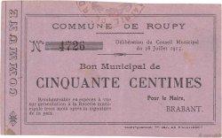 50 Centimes FRANCE régionalisme et divers  1915 JP.02-1952 TTB+