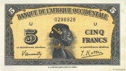 5 Francs type 1942 AFRIQUE OCCIDENTALE FRANÇAISE (1895-1958)  1942 P.28a NEUF
