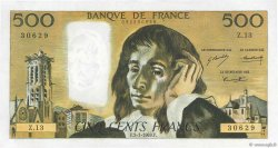 500 Francs PASCAL FRANCE  1969 F.71.03 SUP à SPL