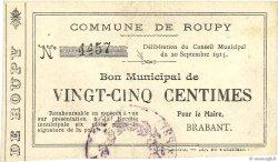 25 Centimes FRANCE régionalisme et divers  1915 JP.02-1955 TTB