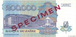 200000 Zaïres ZAÏRE  1992 P.42s pr.NEUF