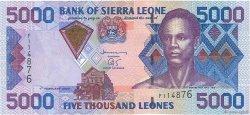 5000 Leones SIERRA LEONE  2002 P.28 pr.NEUF