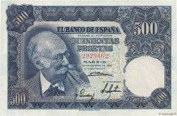 500 Pesetas ESPAGNE  1951 P.142a SPL
