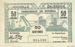 50 Centimes NOUVELLE CALÉDONIE  1943 P.54 SUP