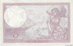 5 Francs VIOLET modifié FRANCE  1939 F.04.14 SUP