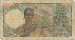 1000 Francs type 1945 AFRIQUE OCCIDENTALE FRANÇAISE (1895-1958)  1953 P.42 B