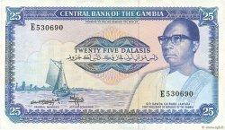 25 Dalasis GAMBIE  1987 P.11b pr.SUP