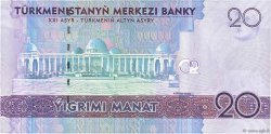 20 Manat TURKMÉNISTAN  2009 P.25a NEUF