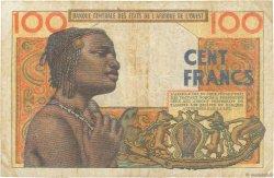 100 Francs type 1956 modifié 1960 AFRIQUE OCCIDENTALE FRANÇAISE (1895-1958)  1959 P.002a TB