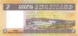 2 Emalangeni SWAZILAND  1983 P.08a NEUF
