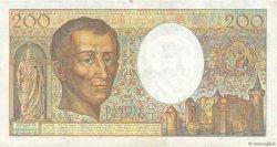 200 Francs MONTESQUIEU FRANCE  1981 F.70 TTB