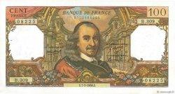 100 Francs CORNEILLE FRANCE  1968 F.65.21 SUP à SPL