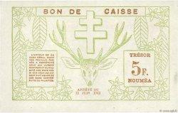 5 Francs NOUVELLE CALÉDONIE  1943 P.58 SUP