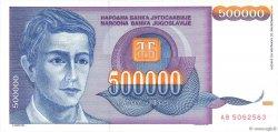 500000 Dinara YOUGOSLAVIE  1993 P.119 NEUF