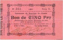 5 Francs FRANCE régionalisme et divers  1915 JP.02-1698 TTB