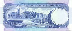 2 Dollars BARBADE  1980 P.30 NEUF