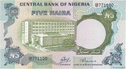 5 Naira NIGERIA  1973 P.16a SUP à SPL