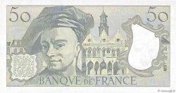50 Francs QUENTIN DE LA TOUR FRANCE  1987 F.67.13 SPL