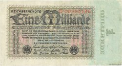 1 Milliard Mark ALLEMAGNE  1923 P.114 TTB