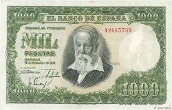 1000 Pesetas ESPAGNE  1951 P.143a SUP+