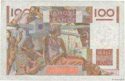 100 Francs JEUNE PAYSAN FRANCE  1954 F.28.42 TTB+