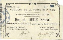2 Francs FRANCE régionalisme et divers  1915 JP.02-0821 TTB