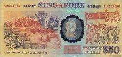50 Dollars SINGAPOUR  1990 P.30 NEUF