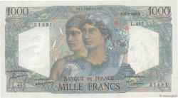 1000 Francs MINERVE ET HERCULE FRANCE  1948 F.41.23 SPL