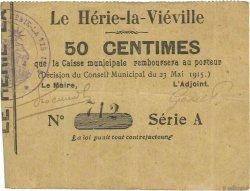 50 Centimes FRANCE régionalisme et divers  1915 JP.02-1165 TTB