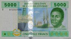 5000 Francs CONGO  2002 P.109T NEUF