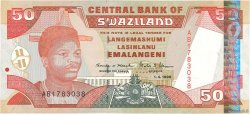 50 Emalangeni SWAZILAND  1998 P.26b pr.NEUF