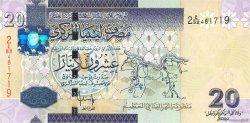 20 Dinars LIBYE  2009 P.74 NEUF