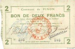 2 Francs FRANCE régionalisme et divers PIN0N 1915 JP.02-1767 TTB