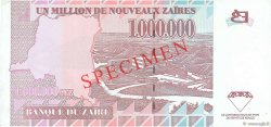 1000000 Nouveaux Zaïres ZAÏRE  1996 P.79s pr.NEUF
