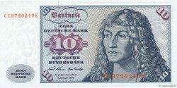 10 Deutsche Mark ALLEMAGNE  1970 P.031a pr.NEUF