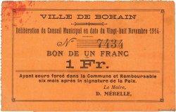 1 Franc FRANCE régionalisme et divers  1915 JP.02-0248 TTB