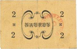 2 Francs FRANCE régionalisme et divers NAUROY 1915 JP.02-1628 TTB