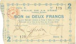 2 Francs FRANCE régionalisme et divers  1915 JP.02-0801 TTB
