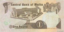 1 Lira MALTE  1979 P.34b TTB