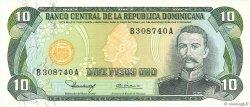 10 Pesos Oro RÉPUBLIQUE DOMINICAINE  1980 P.119b NEUF