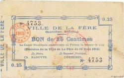 25 Centimes FRANCE régionalisme et divers  1915 JP.02-0806 pr.TTB