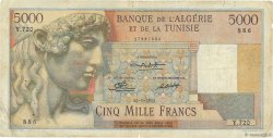 5000 Francs ALGÉRIE  1950 P.109a B+