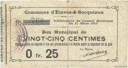 25 Centimes FRANCE régionalisme et divers  1915 JP.02-0711 TB