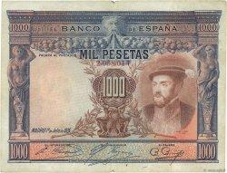 1000 Pesetas ESPAGNE  1925 P.070a
